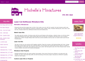 michellesminiatures.com