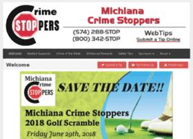 michianacrimestoppers.com
