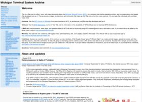 michigan-terminal-system.org
