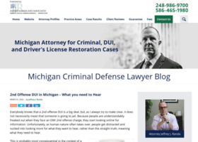 michigancriminaldefenselawyerblog.com