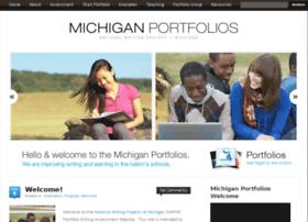 michiganportfolios.org