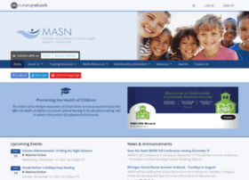 michiganschoolnurses.org