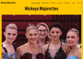 mickeysmajorettes.com