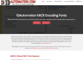micrencodingfonts.com