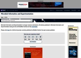 microbialinformaticsj.biomedcentral.com