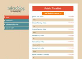 microblogging.wingnity.com
