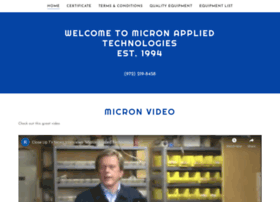 micronappliedtechnologies.com