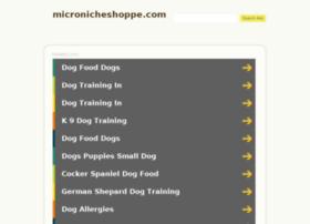micronicheshoppe.com
