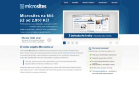 microsites.cz