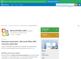 microsoft-office-2007.softonic.fr