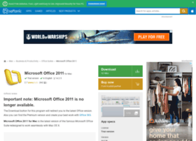 microsoft-office-2011.en.softonic.com