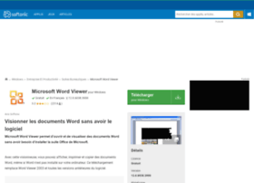 microsoft-office-word-viewer-2003.softonic.fr