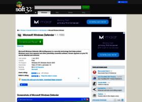 microsoft-windows-defender.soft32.com