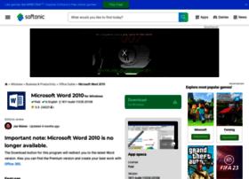 microsoft-word-2010.en.softonic.com