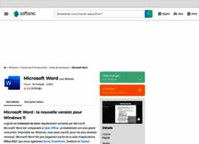 microsoft-word.softonic.fr