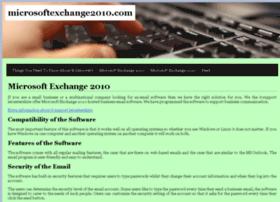 microsoftexchange2010.com