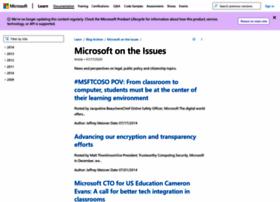 microsoftontheissues.com