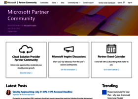 microsoftpartnercommunity.com