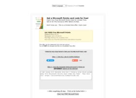 microsoftpoints.freegiftcode.com