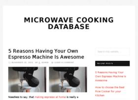 microwavecookingdb.com