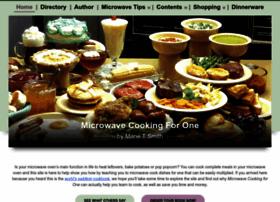 microwavecookingforone.com