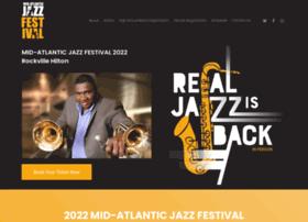 midatlanticjazzfestival.org