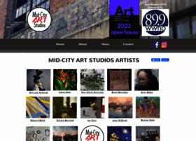 midcityartstudios.com