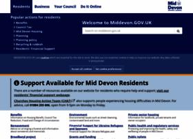 middevon.gov.uk