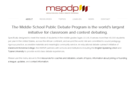 middleschooldebate.com