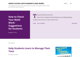 middleschoolmathmoments.com