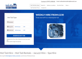 midlandhottubhire.co.uk