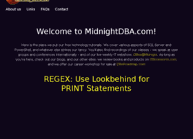 midnightdba.com