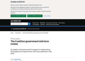 midtermreview.cabinetoffice.gov.uk