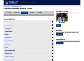 midway.libguides.com