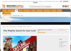 mighty-quest-for-epic-loot.browsergames.es
