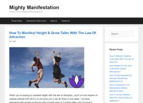 mightymanifestation.com