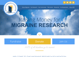 migraineresearchfoundation.org