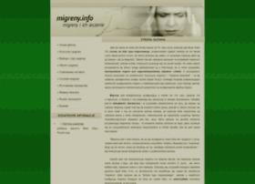 migreny.info