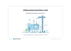 mikecamerononline.com