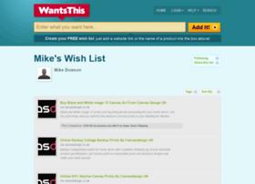 mikedowson.wantsthis.com