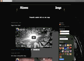 mikeeessongs.blogspot.com