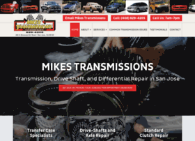 mikes-transmissions.com