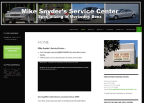 mikesnyderservicecenter.com