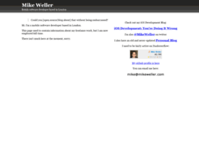 mikeweller.com