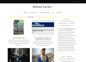mikhailkarikis.com