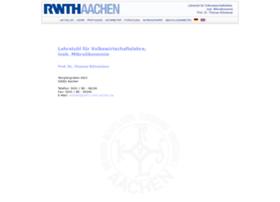 mikrooekonomie.rwth-aachen.de
