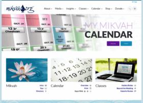 mikvah.org