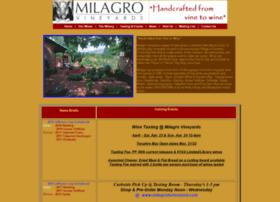 milagrowine.com