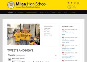 milanhs.mamboschools.com