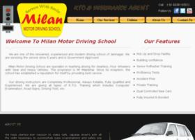 milanmotordrivingschool.com